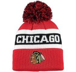 Chicago Blackhawks 2019/20 Culture Cuffed NHL Knit Hat