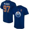 Edmonton Oilers Connor McDavid adidas Nimi & Numero T-paita