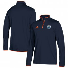 Edmonton Oilers  adidas 1/4 Zip Pullover Jacket
